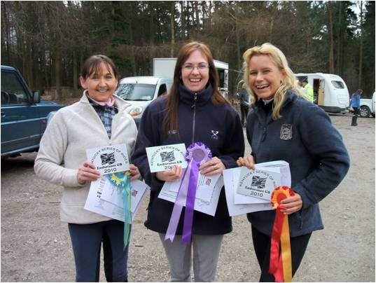 Tracey Dickson, Claire Reed-Entwistle and Zellie Skeggs
