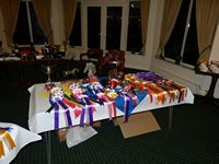 The rest of the Trophies and Awards laid out - thanks to Pennie for working everything out